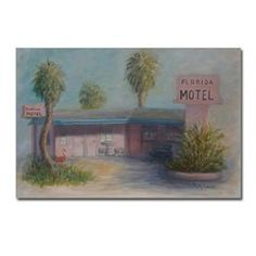 FLORIDA MOTEL Postcards (Package of 8)