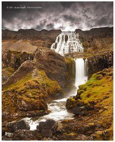 Dynjandi waterfall in Isafjordur_ Iceland