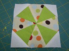 Kaleidoscope Block Tutorial from Loft Creations