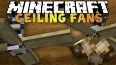 Minecraft - 1.5 - Ceiling Fans - Mod Review - Deckenventilatoren