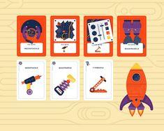 Kickstarter Tabletop Alert: 'Spaceteam Card Game' Is 5 Minutes of Frantic Fun - GeekDad Game Card Design, Board Game Design, Discovery Games, Board Game Themes, Top Trumps, Card Games, Game Cards, 2d Art, Playing Cards