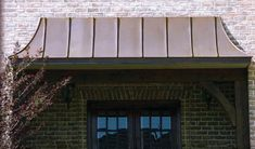 Old World Copper Awning