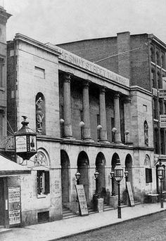 Buyenlarge Chestnut Street Theatre, Philadelphia, PA by Free Library of Philadelphia Photographic Print Historic Philadelphia, Philadelphia History, Los Angeles Hollywood, Lakefront Homes, Free Library, Old West, Old Town, Old Photos, Art Prints