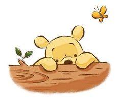 Winnie The Pooh Drawing, Cute Winnie The Pooh, Winne The Pooh, Winnie The Pooh Quotes, Winnie The Pooh Friends, Cute Disney Wallpaper, Cartoon Wallpaper, Disney Tattoos, Disney Drawings