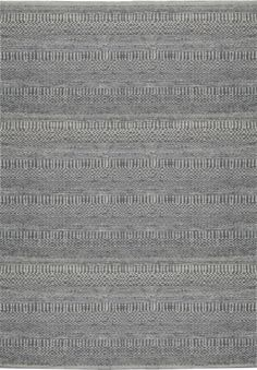 The high quality natural materials of the Madagascar rugs are enough to set these patterned neutrals apart from the flock. Crafted from a handwoven blend of wool, cotton and jute