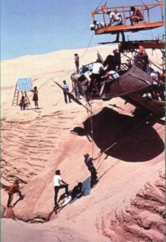 Behind the scenes on Star Wars Return of the Jedi