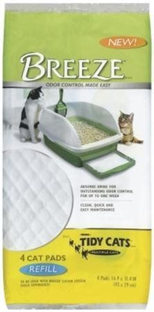 Breeze cat pads are easy to maintain and odor free. The specially-designed Breeze litter pellets allow urine to pass through to the Breeze c...