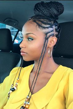 Image result for two ear braids
