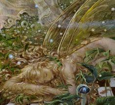 Elfland Sleepy Fairy, by Kinuko Y. Craft