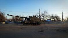 Колонна Мста-С ДНР - Ukraine: Column MSTA-S militias