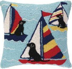 Sailor Labs Hook Pillow