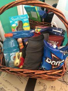 Easter basket for a teenager easterspring pinterest easter basket for a boyfriend boyfriend presentsboyfriend negle Gallery