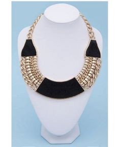 Make your outfit pop: 10 of the best statement necklaces: Glam pony necklace, www.dissh.com.au