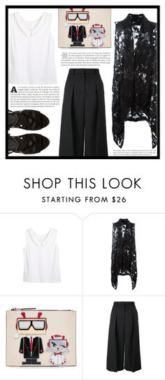 """~Work~"" by dolly-valkyrie ❤ liked on Polyvore featuring MASNADA, Karl Lagerfeld, Erdem and Rebecca Minkoff"