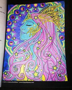 #spiritwomen #cristinamcallister #night #neon #colouring #colouredbyme