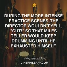 #whiplash #cinephileapp #cinema #film #movies #watchlist #watch #cinephile #drums #drummer #practice #milesteller