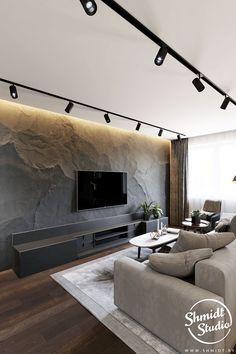 Living Room Wall Designs, Home Room Design, Home Living Room, Interior Design Living Room, Living Room Decor, Apartment Design, House Rooms, Modern Interior Design, Minsk Belarus