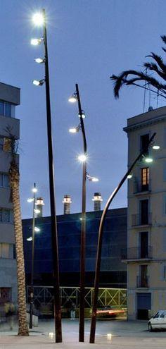 FUL street light series by Pere Cabrera, via Behance: