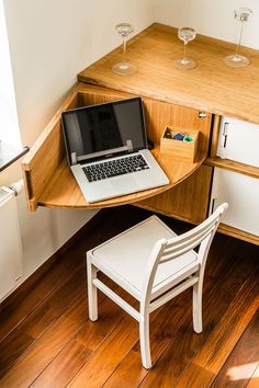 Home sweet home Best Small Space Furniture Design 25 TV Is A Drug - Are Your Kids Addicted? Space Saving Furniture, Home Furniture, Furniture Design, Furniture Ideas, Space Saving Desk, Space Saving Kitchen, Corner Furniture, Unusual Furniture, Antique Furniture