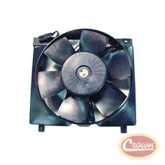 Fan Module Assembly. Replaces Part #: 52005748. Fits: Jeep Cherokee (1987-1996) w/ 4.0L engine. Includes motor.