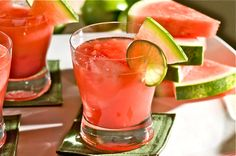 Patron cocktail   1-1/2 oz. Patron Silver tequila  1 oz. fresh lime juice, freshly squeezed  1 oz. orange juice  1 tbs. agave nectar  5 watermelon cubes  1 small watermelon wedge