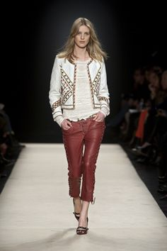 Deserves a re-pin in a different board. From Isabel Marant F/W 2012-13