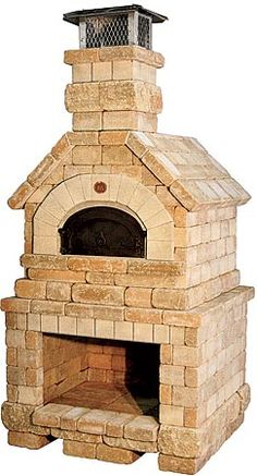 Chicago Brick Oven Wood Fired Pizza Oven   Vesuvio Model Ooo, Back Yard  Kitchen!