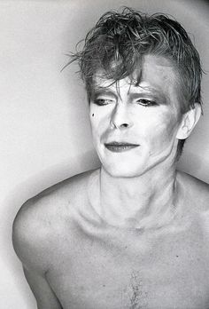 1980 - David Bowie from Ashes To Ashes video 80s (photo by Brian Duffy)