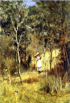 Gathering Mistletoe (Frederick McCubbin)