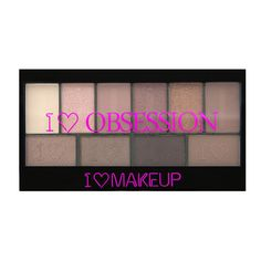 I ♡ Makeup I ♡ Obsession palette-Pure Cult - 3 for 2! I ♡ Makeup selected palettes - PALETTES