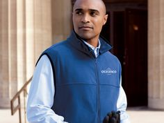 This warm Chestnut Hill vest is made with soft fleece for a light, comfortable layer to keep out the cold.