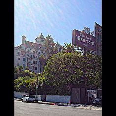Chateau Marmont on Sunset Blvd.