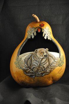 Bear - back side of Ram Gourd