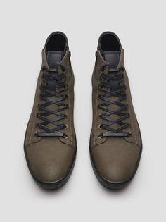High-Top Waterproof Sneaker, DARK TAUPE