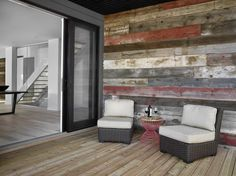 Alair Homes   Edmonton   Bell   Full Renovation Open Staircase, Back Deck, Open Kitchen, Patio Doors, Rustic Barn, Living Area, Modern Design, Contemporary, Homes