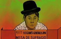 Jornada electoral en Bolivia. Evo se encamina a la reelección #Fotogalería