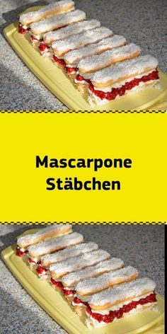 Ingredients 250 g mascarpone, possibly light 3 packs of vanilla sugar 1 tablespoon of powdered sugar Easy Cake Recipes, Easy Desserts, Snack Recipes, Dessert Recipes, Snacks, Chocolate Cake Recipe Easy, Dessert Blog, Biscuits, New Cake