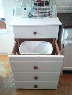 Reimagine a Dresser #kitchens #homedecor