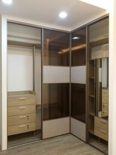 l shape wardrobe - Interior Design Ideas For L Shaped Bedroom