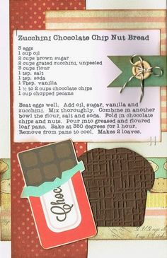 Paper Cottage: Recipe Kit to Go for week of 03/31/2014