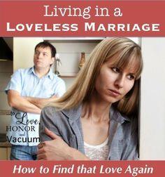 living loveless marriage