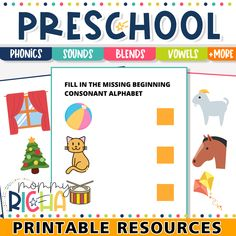 340+ Worksheets to help your child read easily.
