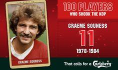 100PWSTK: 11. Graeme Souness - Liverpool FC