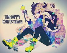 Ibuki Christmas Anime boy
