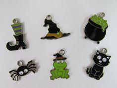 Check out this item in my Etsy shop https://www.etsy.com/listing/205855366/halloween-witch-charms