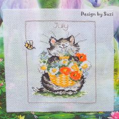 Margaret Sherry: Calendar Cats (July)