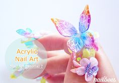 Learn Acrylic Nail Art step by step with easy to understand pictures.