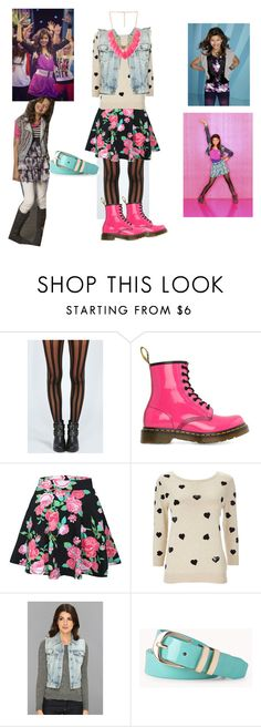 """""""Rocky Blue Outfit"""" by yoitsmeg87 ❤ liked on Polyvore featuring Boohoo, Dr. Martens, B. Ella, Wallis, Big Star, Forever 21, women's clothing, women's fashion, women and female"""