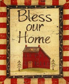 Bless our Home Prints at Total Bedroom Art