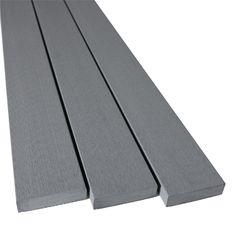 Ekodeck 88 x 23mm 5.4m Silver Ash Composite Decking